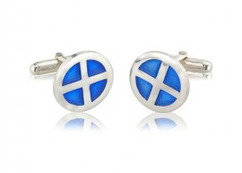 Circle Shield Cufflinks