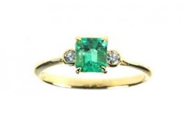 Kingdom Cut Emerald Ring