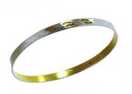 Footprints Bangle