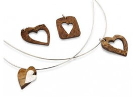Co Co Nut Dreams Heart Pendant.