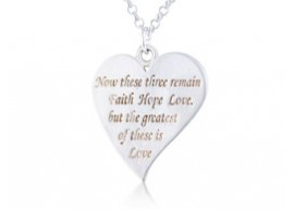Love is the greatest Pendant