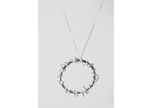 Crown of thorns pendant jewellery inspired by the bible aloadofball Choice Image