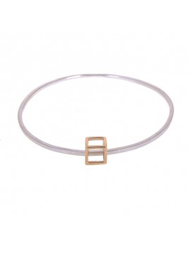Thy Kingdom Come Cube Bangle